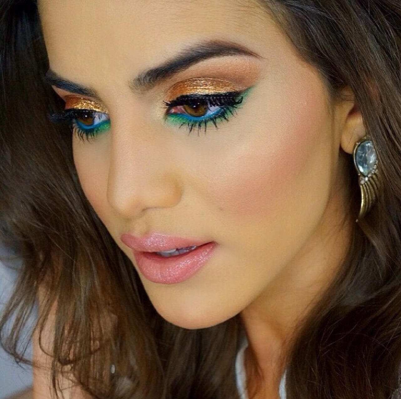 Trucco Per Natale.Beauty Factor By Monica Make Up Per Natale Modelity